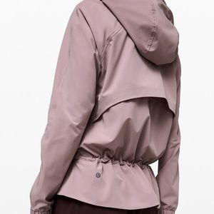 Pack it up jacket smokey blush (sold)